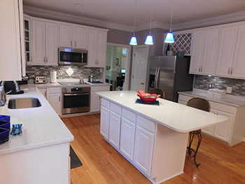 kitchen remodel by integrity home repair