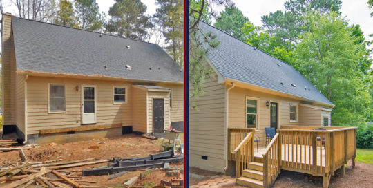 Decking Project from Integrity Home Repair
